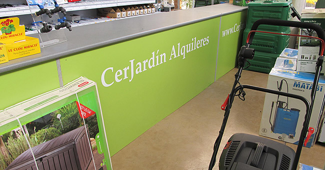 Alquiler de maquinaria en cerjardin centro integral de - Centro de jardineria madrid ...